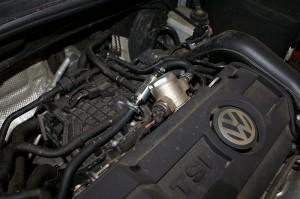 Montaż magnetyzera Maksor Dynamic fuel w VW TSI