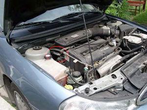 Ford Mondeo z magnetyzerem MAKSOR Dynamic fuel