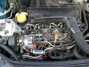 Renault Clio z magnetyzerem MAKSOR Reference