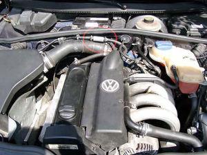 VW Passat z magnetyzerem MAKSOR Dynamic fuel