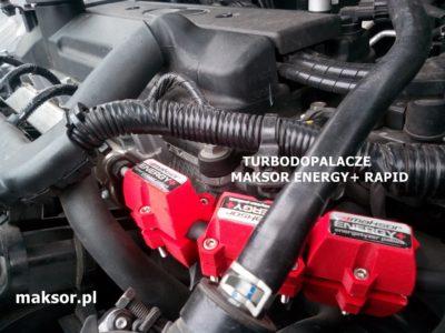 Tuning silnika Hyundai i20 - turbodopalacze MAKSOR Energy+ Rapid.