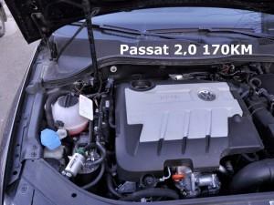 Magnetyzer Maksor reference w silniku VW Passat.
