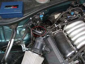 Audi A6 z magnetyzerem MAKSOR Dynamic fuel