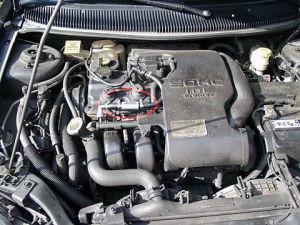 Chrysler Neon z magnetyzerem MAKSOR Dynamic fuel