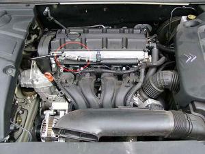 Citroen C5 z magnetyzerem MAKSOR Dynamic fuel
