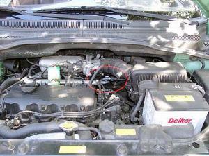 Hyundai Getz z magnetyzerem MAKSOR Dynamic fuel