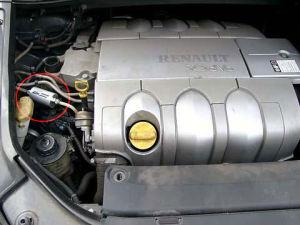 Renault Vel Satis z magnetyzerem MAKSOR Reference