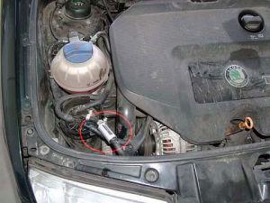 SKODA Fabia z magnetyzerm mMAKSOR Dynamic fuel