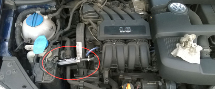Montaż MAKSOR SPECIAL w VW GOLF 1,6