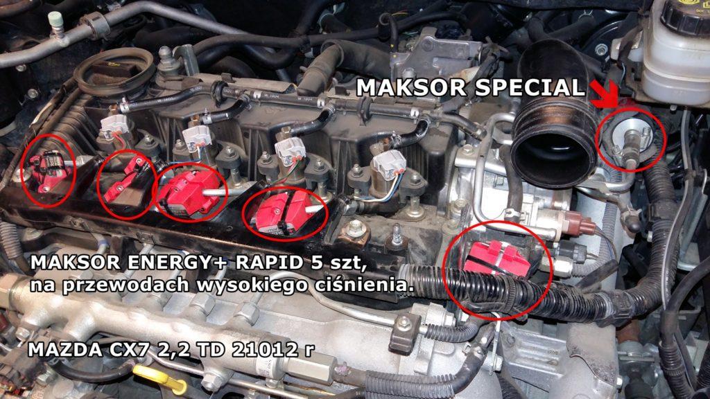 Tuning-silnika- MAZDA CX7 2,2 + MAKOSR SPECIAL i M.Energy+ RAPID