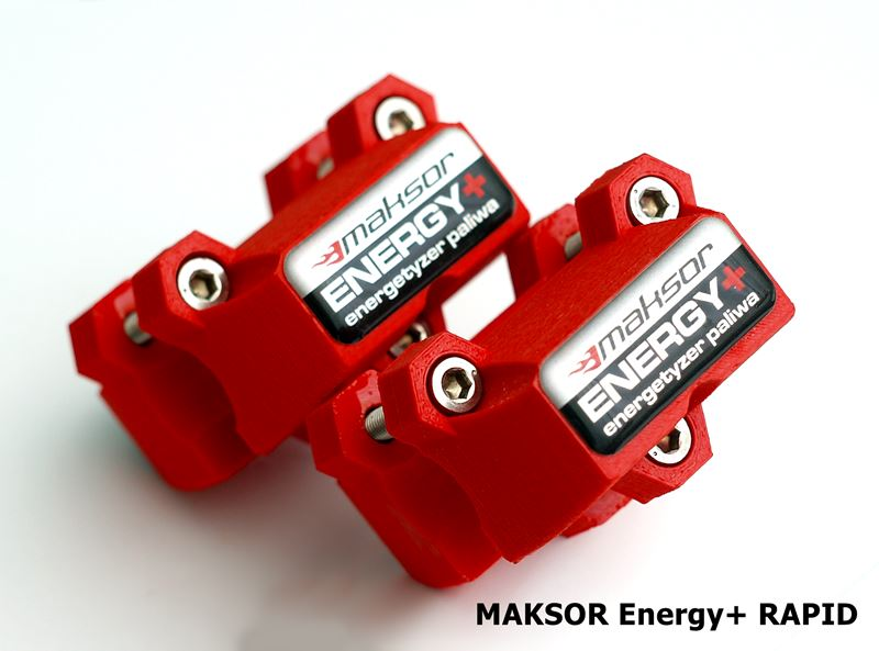 Boostery MAKSOR ENERGY+, przyspieszenie jak +10 KM, 10% tańsze paliwo, atrakcyjna cena.