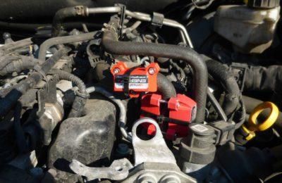 Montaz Maksor Energy+ Rapid -tuning silnika VW AMAROC 180KM